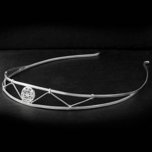 Ободок из серебра с символом Молвинец